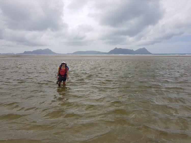 Te Araroa Trail Day 19 - River crossing on the beach to Waipu