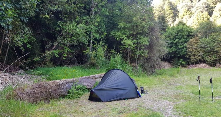 Te Araroa Trail Day 41 - Camp at Harrisons rest area