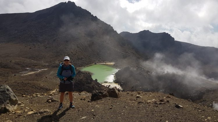 Te Araroa Trail Emerald Lakes Tongariro Crossing