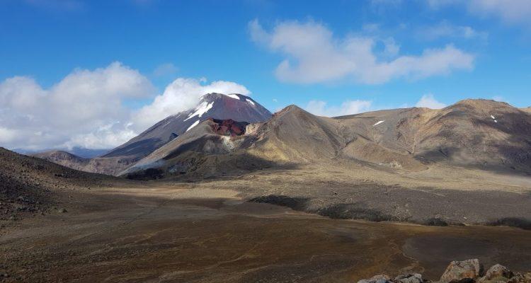 Te Araroa Trail Tongariro Alpine Crossing