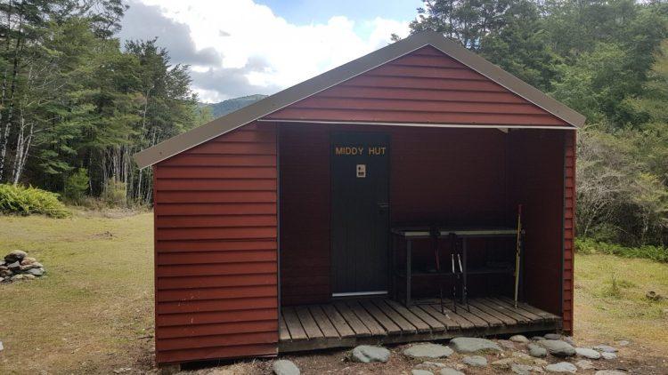 Te Araroa Trail Day 80 - Middy hut