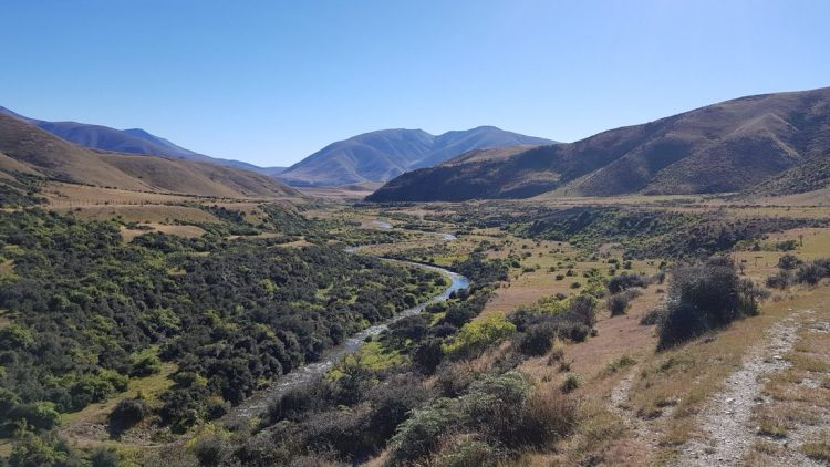 Te Araroa Trail Day 93 - Looking back over Avon Burn