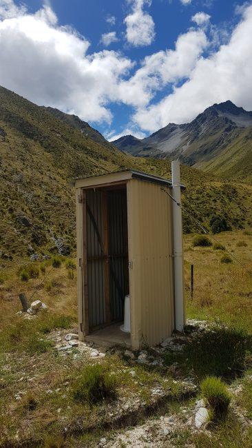 Te Araroa Trail Day 93 - Loo with a view