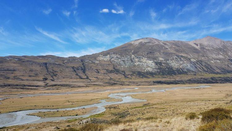 Te Araroa Trail Day 105 - Between Boundary and Carey's hut Greenstone Mavora walkway