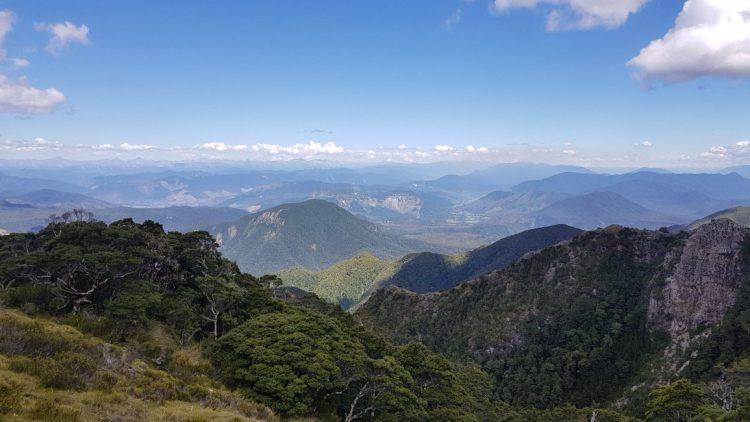 Te Araroa Trail Day 119 - Views from Ghost Lake camping
