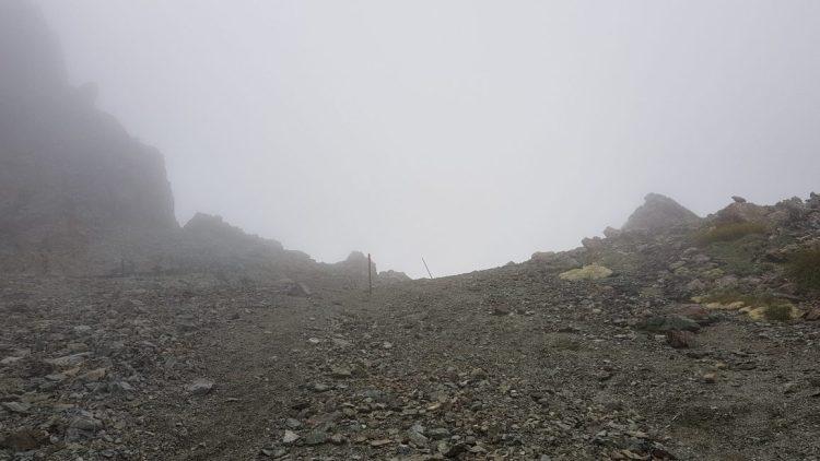 Te Araroa Trail Day 124 - Nearing the top of Waiau pass