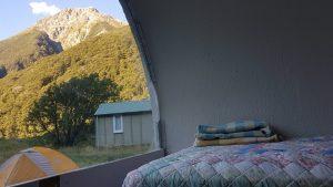 Te Araroa Trail Day 132 - Best spot at The Sanctuary Arthur's Pass