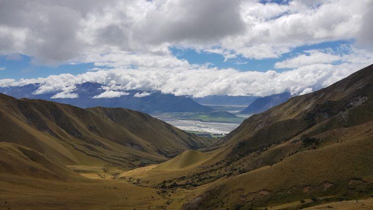 Te Araroa Trail Day 136 - View from Turton's Saddle
