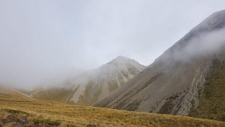 Te Araroa Trail Day 137 - Approaching Clent Saddle