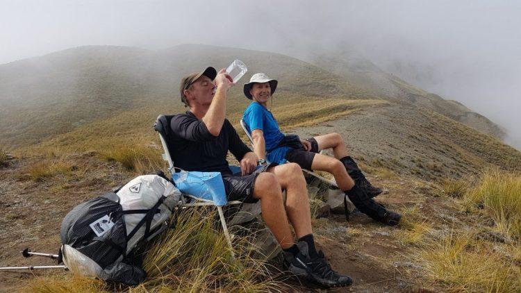 Te Araroa Trail Day 137 - Clent Saddle deckchairs