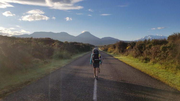 Te Araroa Trail towards National Park