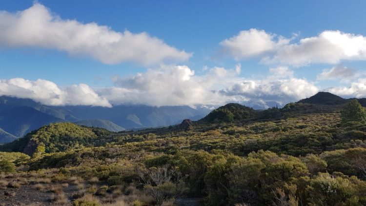 Te Araroa Trail Day 81 - Views to the Richmond Ranges