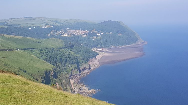 From Countisbury to Lynmouth