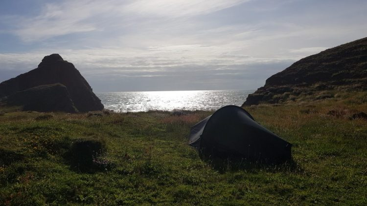 Epic wild camp spot at Smoothlands