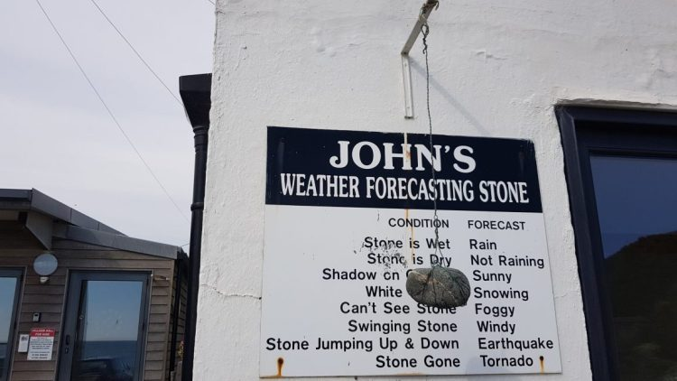 John's weather stone