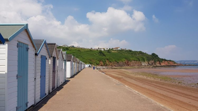 ... and more beach huts