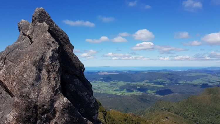 Views to the coast from the Pinnacles summit