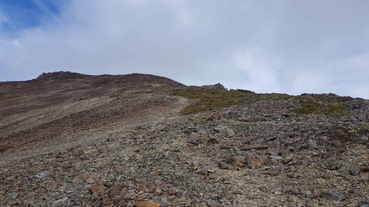 Climb up Little Rintoul