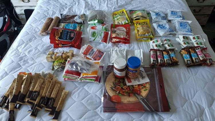 8 days of food for the Richmond ranges