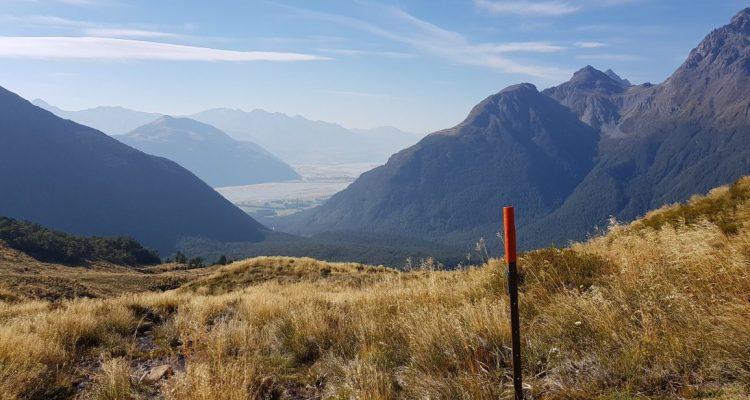 Dart sugarloaf Pass track