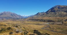 Mount Sunday edoras hakatere ashburton lake