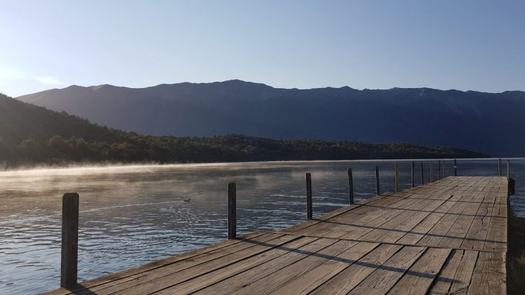 West Bay jetty Lake Rotoiti