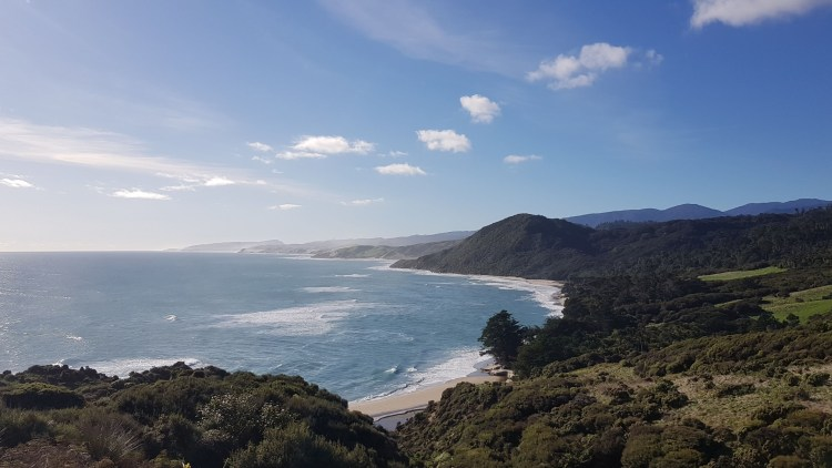 View North from Kahurangi Point
