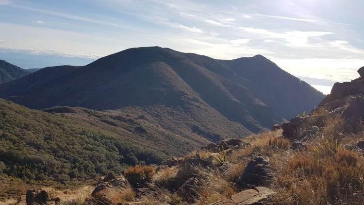 Looking towards Coppermine Saddle
