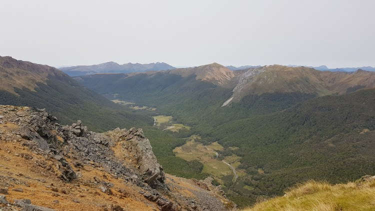 Across the Cobb Valley from the Lockett Range