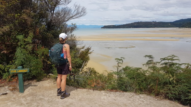A nice view from Stu's Lookout - Abel Tasman Coastal Track