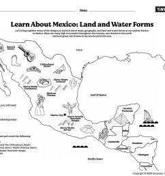 Learn About Mexico: Land and Water Forms; Intro to Spanish – Tiny Travelers [ 1158 x 1500 Pixel ]