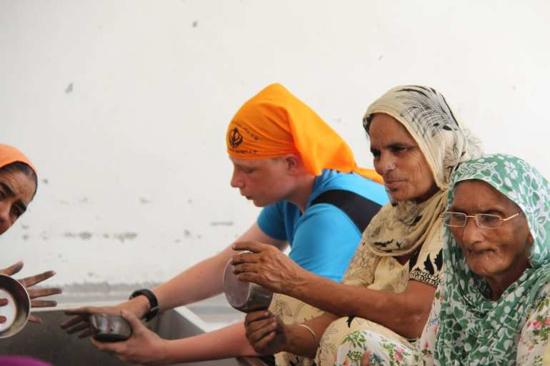 Volunteering, Golden Temple, Amritsar