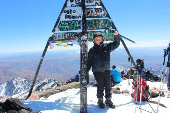 A winter ascent of Jebel Toubkal – With a 13 year old.