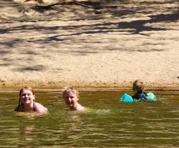 Alice Springs with kids