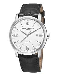 baume mercier men s 8592 classima xl automatic watch baume
