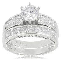 Diamonique Rings - Bridal Sets | Diamonique Rings, Rings ...