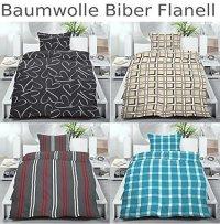 Baumwolle Biber Flanell Winter Bettwsche 155x220 od
