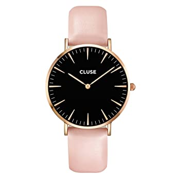 hot cluse la boheme rose gold black pink cl