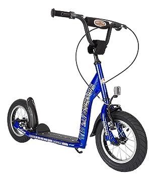 free bikestar pouces prime trottinette patinette enfants couleur bleu