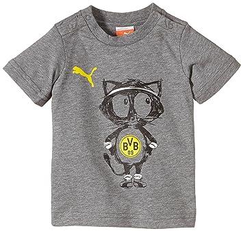 puma t shirt bvb minicats pour ba c ba c imprima c graphique kjhgfdghjkjnhb