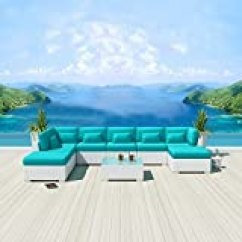 Lexmod Monterey Outdoor Wicker Rattan Sectional Sofa Set Dimensions In Feet Modenzi 9c Patio Furniture White Turquoise Buying Guide Explains However On Line Looking Will Assist You To Urge The