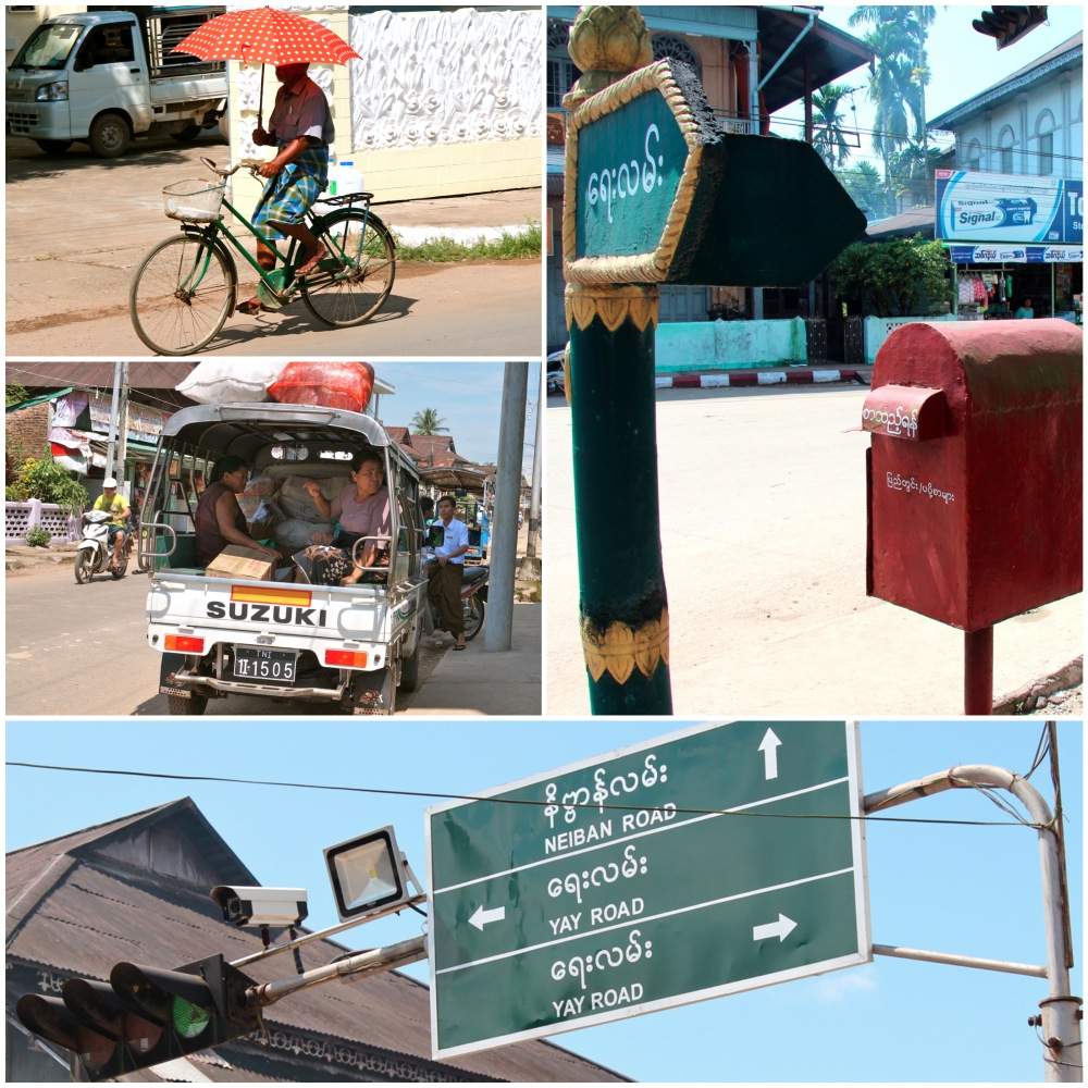 Streets of Dawei Collage