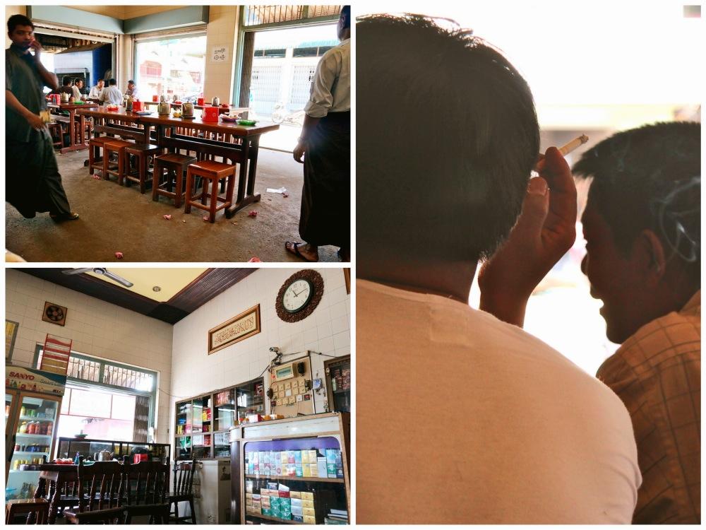 Tea shop in Dawei