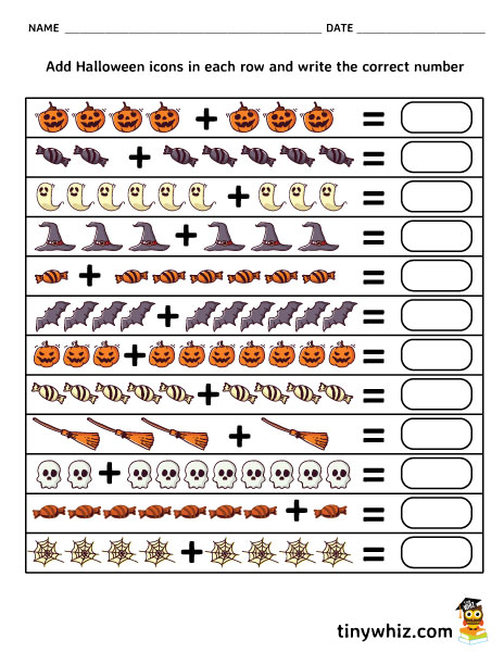 graphic about Halloween Worksheets Free Printable identified as Totally free Printable Halloween Worksheets For Young children Minor Whiz