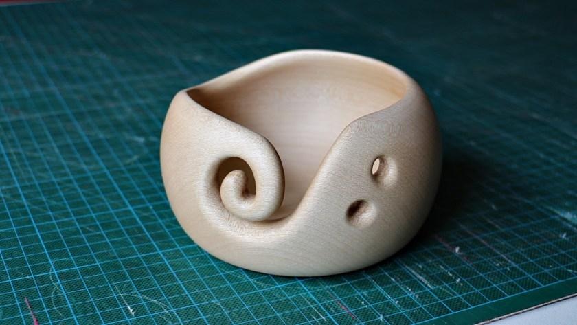 Stephens 8x6 Workshop yarn bowl