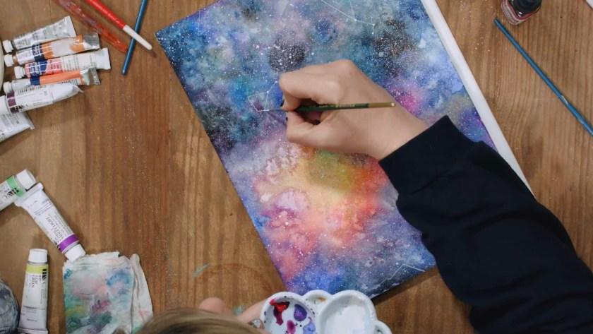 Best Domestika courses: Modern watercolor techniques