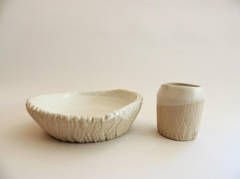 Maria Monasterio plate and cup