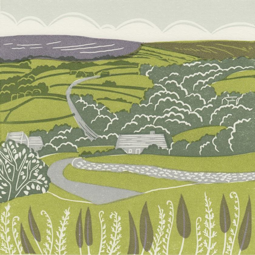 Michelle-Hughes-Lealholm-Esk-Valley-linocut-print-s