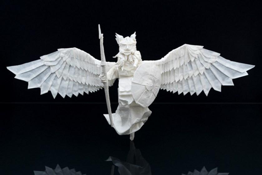 Juho Konkkola angel origami