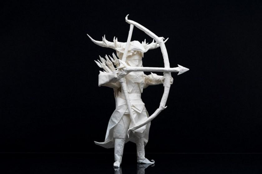 Juho Konkkola archer origami